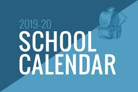District Calendar 2020-2021